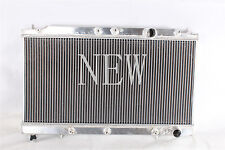 2 ROW 90-94 MIT ECLIPSE/TALON/LASER 1G DSM MT DUAL CORE ALUMINUM RACING RADIATOR