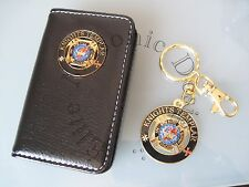Masonic Knights Templar Business Card or Dues Card Holder & Cut Out  Keychain: