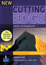 Longman NEW CUTTING EDGE Upper-Intermediate Students Book with CD-ROM @NEW BOOK@