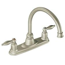 MOEN 7902SL Castleby 2-Handle Kitchen Faucet in Stainless Steel