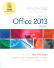 Exploring Microsoft Office 2013 Volume 1 by Mary Anne Poatsy