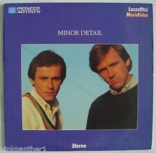 "MINOR DETAIL  John and Willie Hughes Irish Brothers Band  8"" inch   LaserDisc"