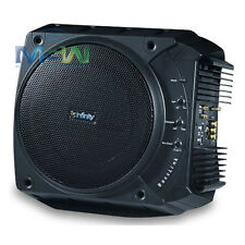 """*NEW* INFINITY® BassLink 10"""" 200W CLASS-D POWERED AMPLIFIED CAR SUBWOOFER SYSTEM"""