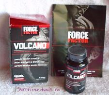 Force Factor Volcano Explosive Nitric Oxide Booster 60 Capsules - NEW SEALED