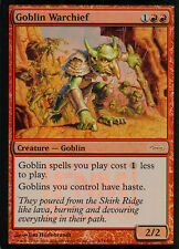 Goblin warchief foil | ex | FNM promos | Magic mtg
