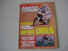 MOTOSPRINT 3/1990 HUSQVARNA WR 250/APRILIA 125 SPORT/CLIMBER/HONDA SPACY 125