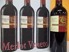 Merlot Veneto (6 FLASCHEN) - italienischer Rotwein halbtrocken 0,75L (7,99€/1l)