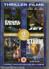 The Cruel Deep / Jet / The Last Line Of Defence / Storm (4 films on 2 DVDs)