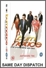BURN NOTICE Complete Seasons 1+2+3+4+5+6+7 DVD Box Set New + The Fall of Sam Axe