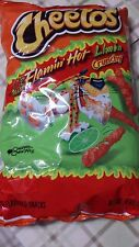 CHEETOS FLAMIN' HOT LIMON CRUNCHY NET WT 8.5 OZ 04/2017 NEW AND FRESH