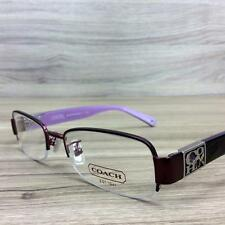 Coach Sherri HC 5016Q Eyeglasses Frames Satin Purple 9070 Authentic 51mm