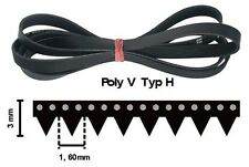 1260 H7 Poly-V Riemen Keilriemen  1260H7 Rippenband