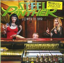 STEEL PANTHER LOWER THE BAR VINILE LP NUOVO SIGILLATO !
