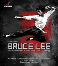 THE TREASURES OF BRUCE LEE by Paul Bowman (2013, New Hardcover) SHRINK WRAPPED