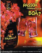 Publicité advertising 2004 Apéritif Passoa