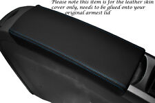 BLUE STITCHING FITS TOYOTA PRIUS T3 05-09 LEATHER ARMREST COVER ONLY