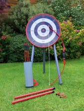 Kids Garden Archery Set Safe Bow And Arrow Blow Pipe Darts Target Stand