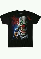 Scary true blue clown tshirt