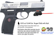 ArmaLaser GTO for Ruger P345 - RED Laser Sight w/ FLX49 Grip Touch Activation