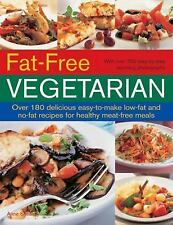 Fat Free Vegetarian (Over 180 delicious easy-to-make low-fat and-ExLibrary