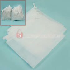 5 Pcs Non-woven Replacement Bags for Nail Care Art Dust Suction Collector White
