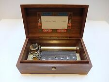 VINTAGE REUGE MUSIC BOX, 72 NOTES MOZART'S TURKISH MARCH (WATCH VIDEO)
