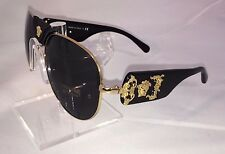 "*NEW* Versace VE 2150Q Sunglasses 100287 Gold ""AUTHORIZED RETAILER"""