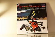 JOHN GAY - THE BEGGAR'S OPERA - DECCA UK 2X VINYL LP BOX SET NM WITH BOOKLET