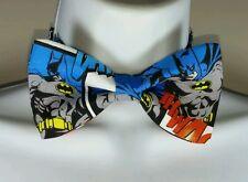Batman Pre-tied Bow Tie - Handmade