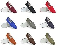 New Mens Soul Star Canvas Plimsoll Pumps Holiday Beach Casual Footwear Shoes M1S