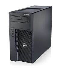 Dell Precision T1650 Core i7 3.4GHZ de cuatro núcleos, 32GB, 256GB SSD Win 7 Pro