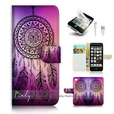 iPhone 5 5S Print Flip Wallet Case Cover! Dream Catcher P0420