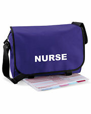 Nurse Messenger Bag | Paramedic, Ambulance, Medic - FREE Delivery FREE Gift