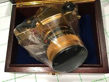 LEICA LEITZ GOLD R4 AND SUMMILUX 1,4/50 - NEW - BOXED  SEALED - REF:CK8584