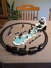 TESTED Kirkland Signature Decorative Village Set Christmas Train Set
