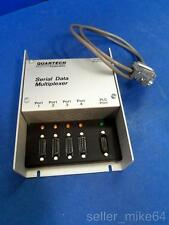 QUARTECH 8517 SERIAL DATA MULTIPLEXER WITH CONNECTOR CABLE 120 VAC, 50/60 HZ NNB