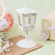 12 - 'Love Lights The Way' Vintage Candle Lamp - Wedding Favors