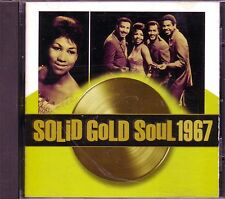 Time Life Solid Gold Soul 1967 CD Great SAM DAVE WILSON PICKETT JACKIE WILSON