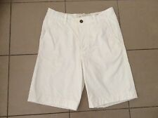 Abercrombie & Fitch   White Cotton shorts   Size 30