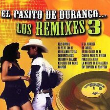CD New/Sealed El Pasito De Durango.. Los Remixes 3