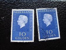 PAYS-BAS - timbre yvert et tellier n° 885B x2 obl (A31) stamp netherlands