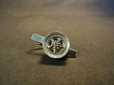 Old Vtg Car Automobile Tire Wheel Tie Bar Jewelry