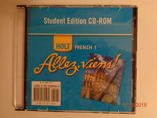 holt french 1. 2. and 3 student edition cd-rom. allez, viens