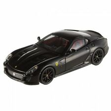 Ferrari 599 Gto 2010 Black Hot Wheels Elite 1:43 Model T6932 MATTEL