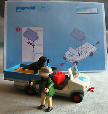 Playmobil - 4464 Zookeeper Caddy / Transporter VGC