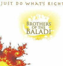 FREE US SHIP. on ANY 2 CDs! ~LikeNew CD Brothers of the Baladi: Just Do What's R