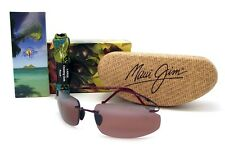 NEW Maui Jim BIG BEACH Burgundy / Maui Rose Polarized R518-07