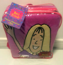 NEW IN BACK PACK JACQUELINE WILSON'S BEST FRIENDS FLEECE SLEEPOVER SLEEPING BAG