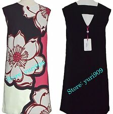 Ted Baker London Fuchsia Caeley Tribal Floral Back Strap Tunic Dress 2 (US 6)