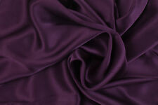 PAIR Luxury 100% Charmeuse SILK Pillowcases Housewife (Velvet Purple)
